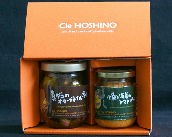 真ダコのオイル漬け・トマトパテ 2本セット 通信販売 Cie HOSHINO